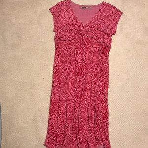 athleta pink dress